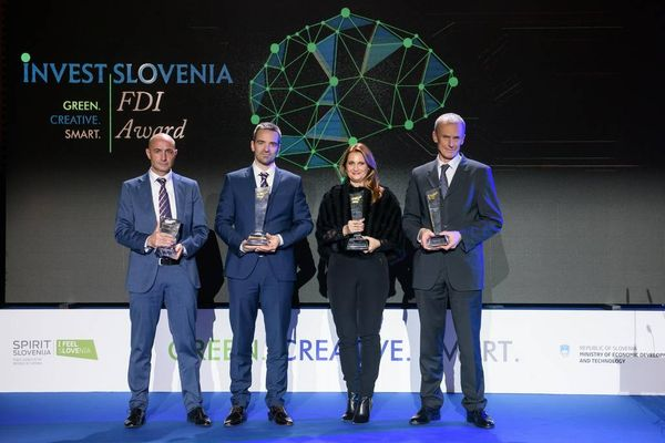 Invest Slovenia FDI Award 2018 – Tribute to Stand-Out Performers